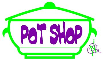 The Pot Shop logo