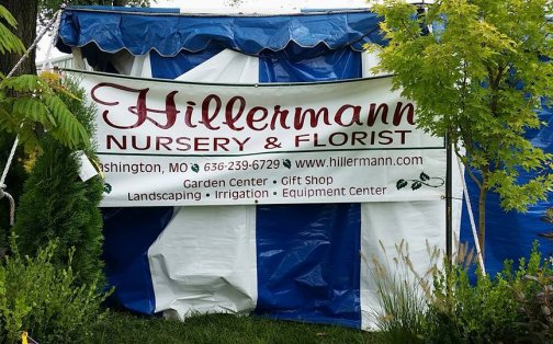 Display at the Hillermann booth in the 2016 Washington Town and Country Fair