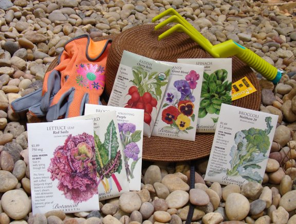 Botanical Interests garden seed packets and gardening items available at Hillermann Nursery and Florist