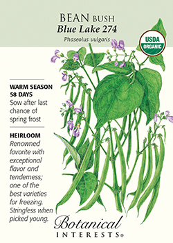 Seed packet from Botanical Interests Seeds available at Hillermann Nursery and Florist
