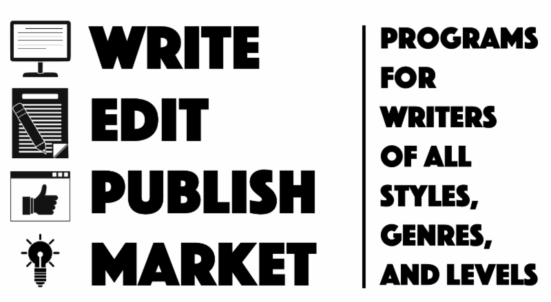 Text_ Write. Edit. Publish. Market. Programs for writers of all styles_ genres_ and levels.