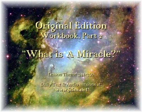 ACIM What is a Miracle