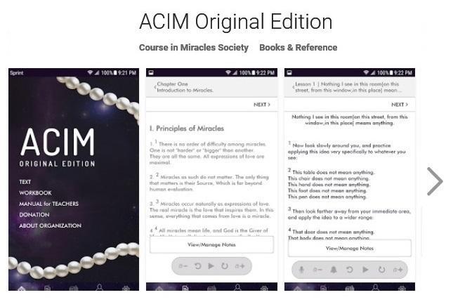 ACIM OE Google Play App