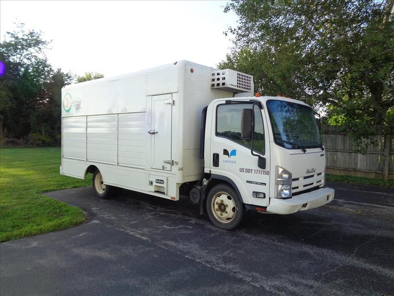 Vending Delivery Trucks for sale