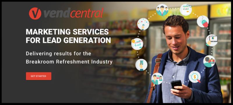 VendCentral.com Website Design _ Marketing