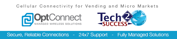 Opt Connect Cellular Connectivity for Vending