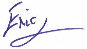 Eric Signature