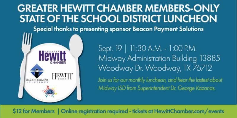 Members-Only Lunch & Learn: State of the School District
