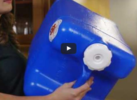 video detailing how to store your own emergency supply of water