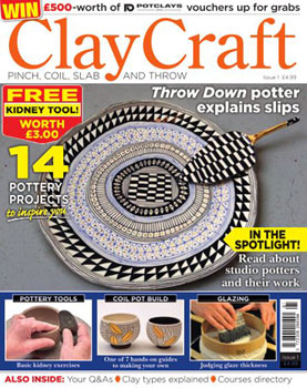 ClayCraft Issue 1 Cover