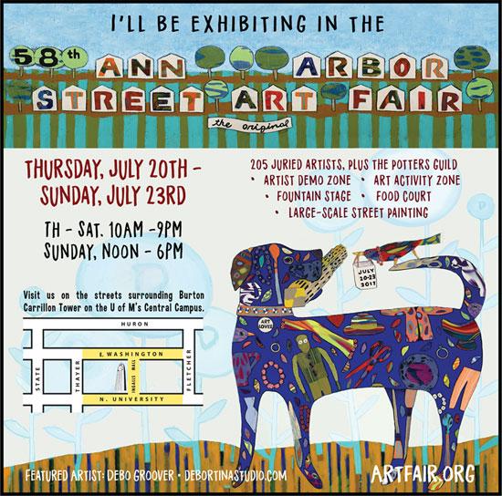 Art Fair announcement