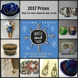 2017 Winter Art Tour prizes