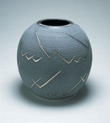 Pot by Maija Grotell