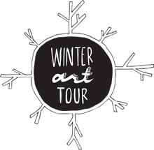 Winter Art Tour logo