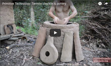 Using termite clay