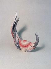 Ceramic piece by Tomoko Konno