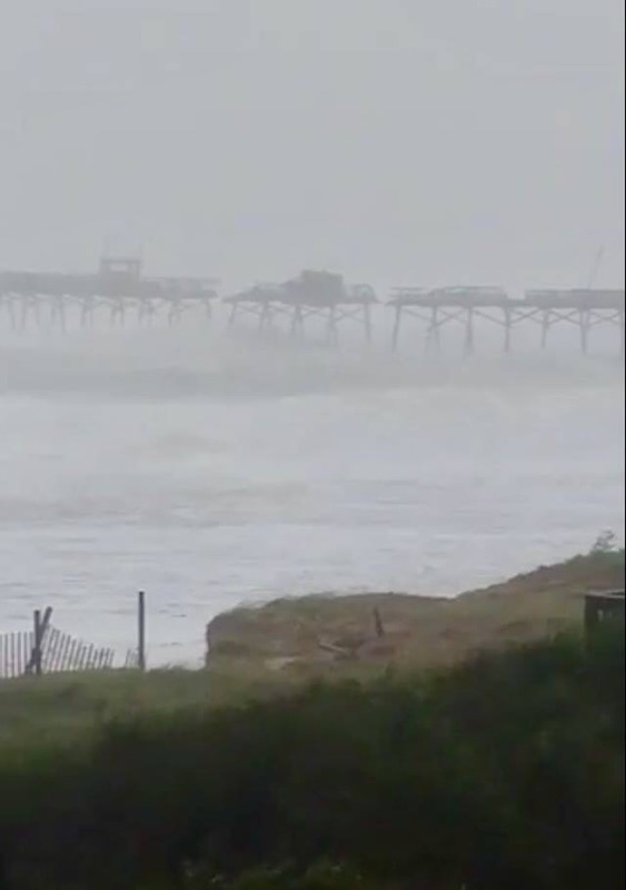 SIGNIFICANT IMPACTS FROM FLORENCE IN EMERALD ISLE - Update