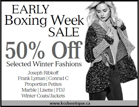 Early Boxing Week Sale