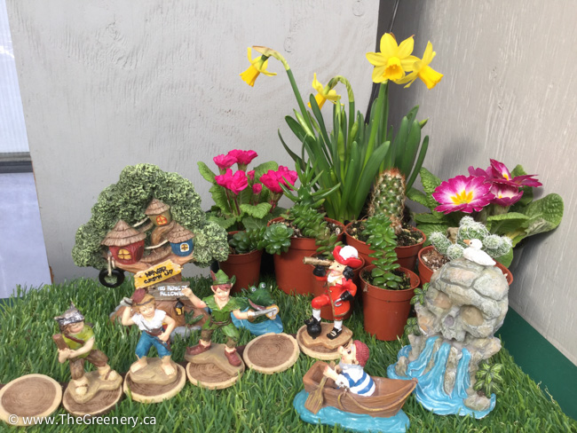 Assorted Garden Decor