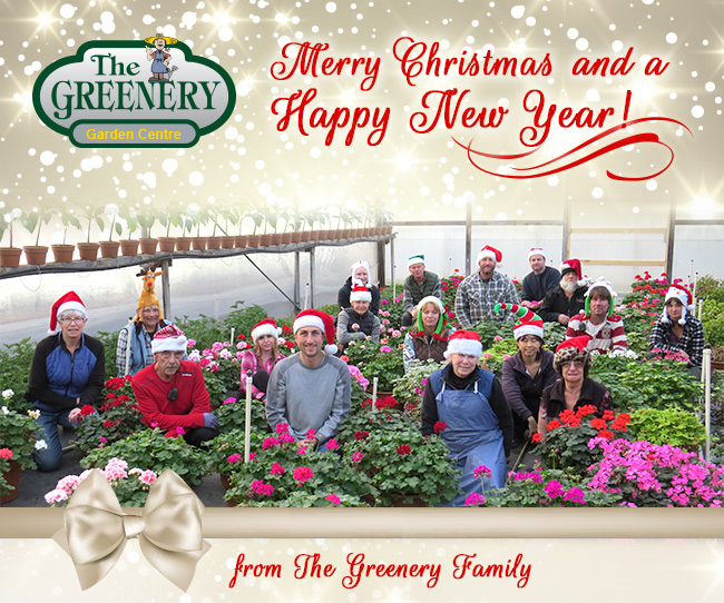 Merry Christmas from The Greenery