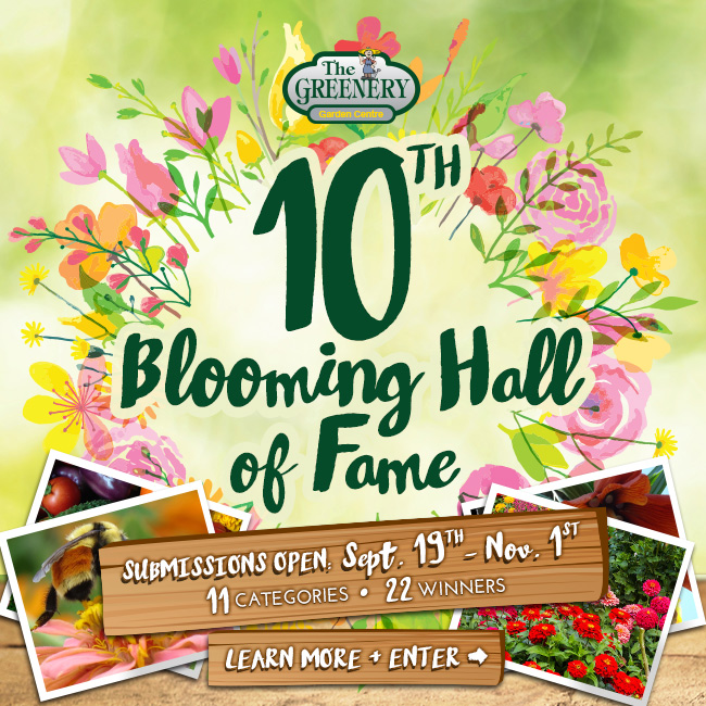2016 Blooming Hall of Fame Submissions Open