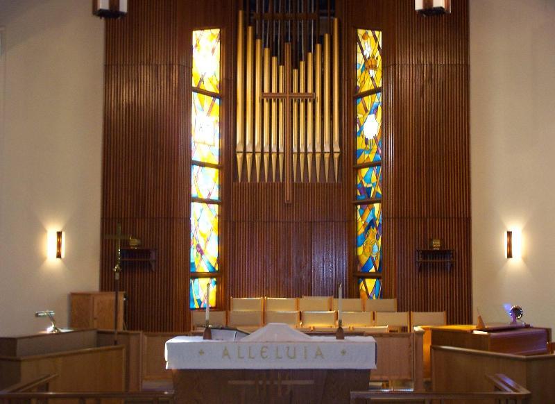Holy Cross Interior