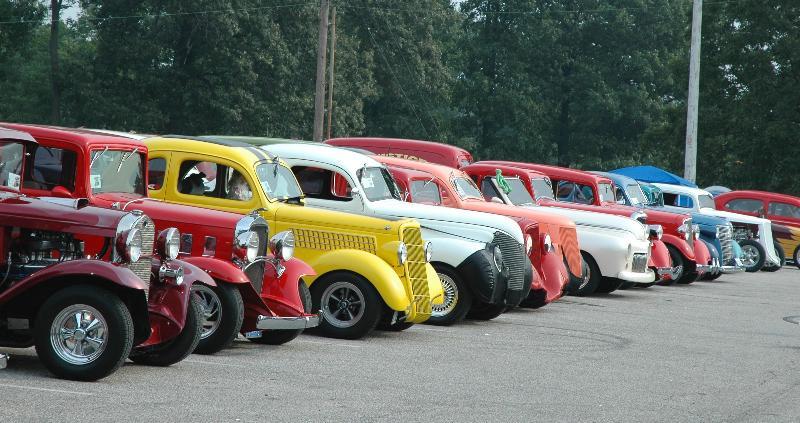 car show graffic