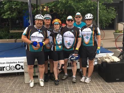 HEALTHeLINK at Tour de Cure