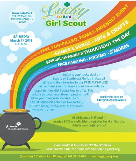 lucky to be a Girl Scout