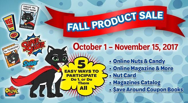fall product program banner