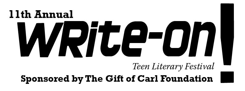 Write-On Teen Literary Festival logo