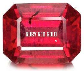 Ruby Red Gem iv