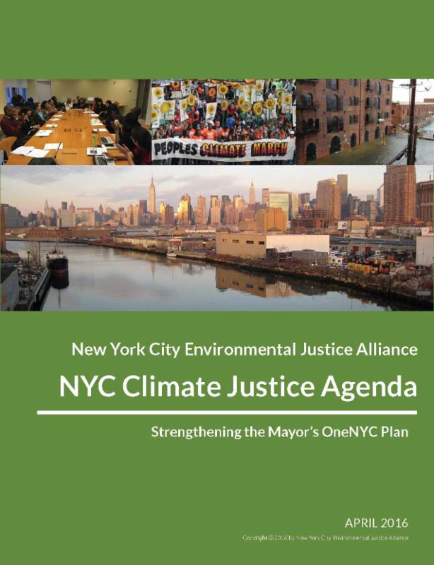 NYC Climate Justice Agenda