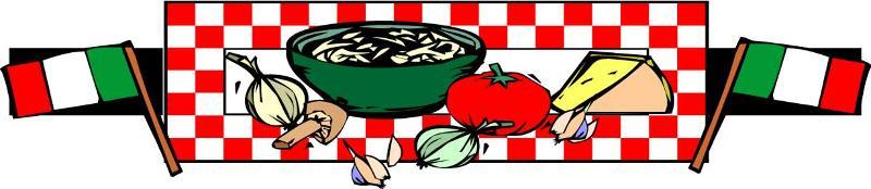 Pasta dinner logo