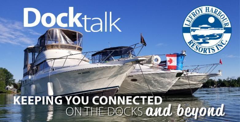 Dock Talk header