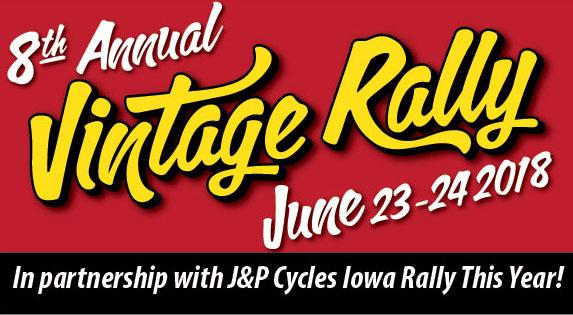2018 Vintage Rally Dates