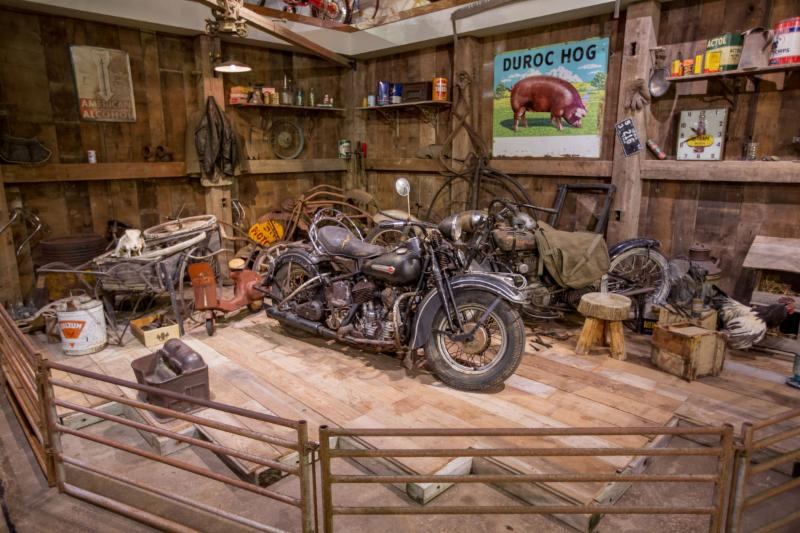BARN FIND_ Rusty_ Dusty and Crusty motorcycles and parts_ what might live in a barn near you_ Come see what we have found and displayed.