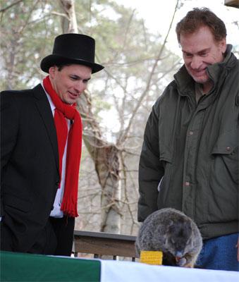 Groundhog ceremony