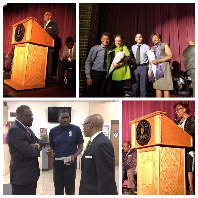 Chancellor Rosa_ Regent Young_ Regent Johnson_ _ Felipe Lopez at Yonkers MBK event