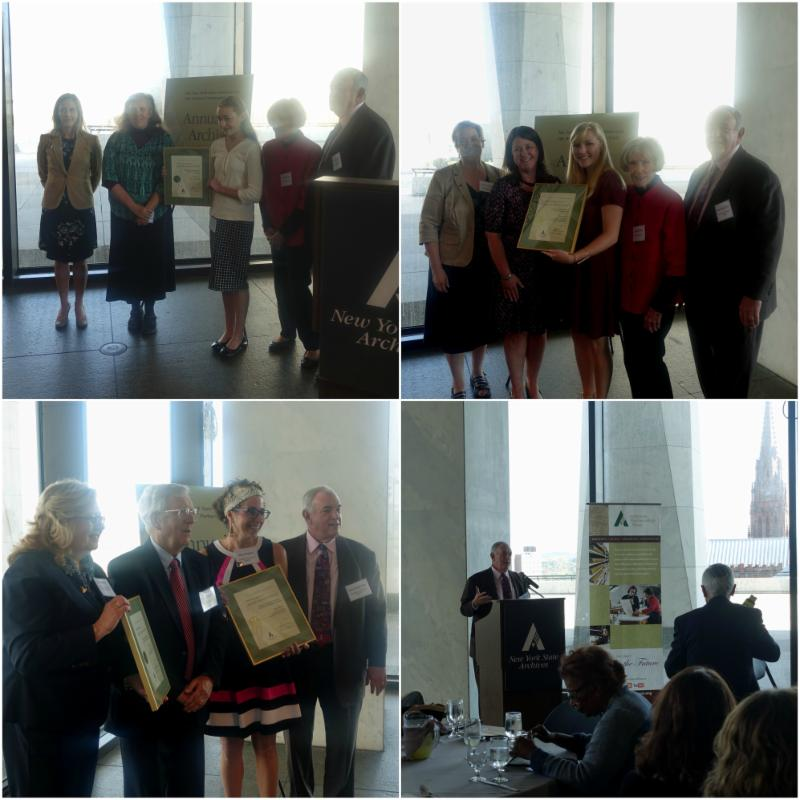 Regent Tilles and Annual Archives Award winners