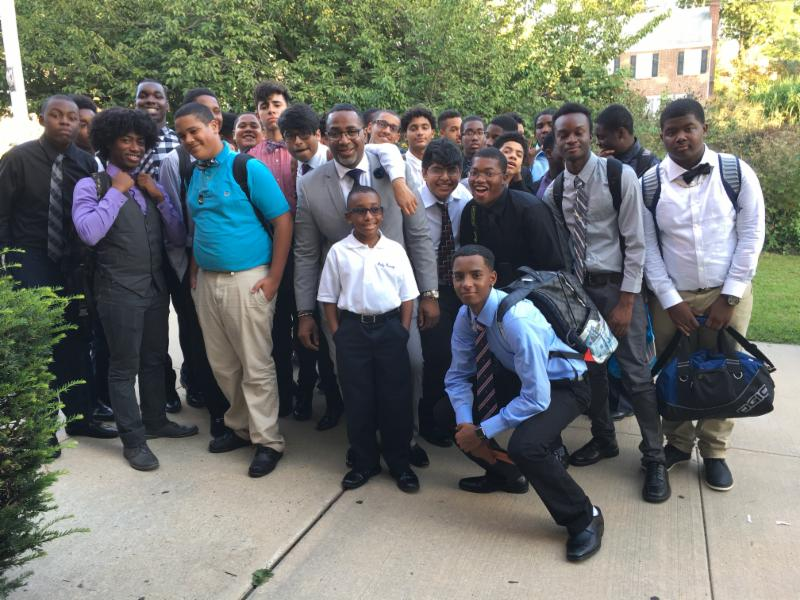 Students attend Yonkers MBK event