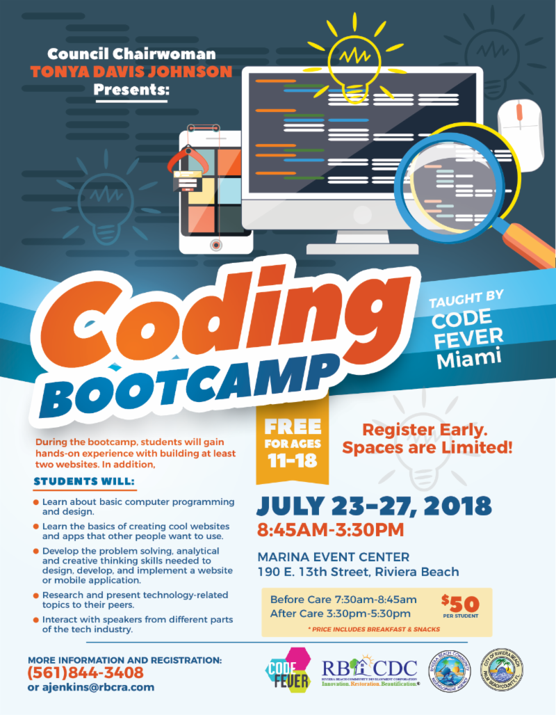 Students are Invited to Attend a Free Coding Bootcamp | July