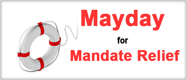 Mayday for Mandate Relief