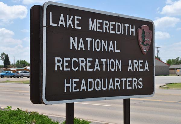Lake Meredith NRA headquarters_ Fritch