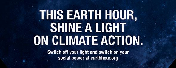 Earth hour March 25