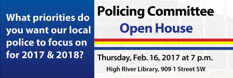 Policing Committee Open House