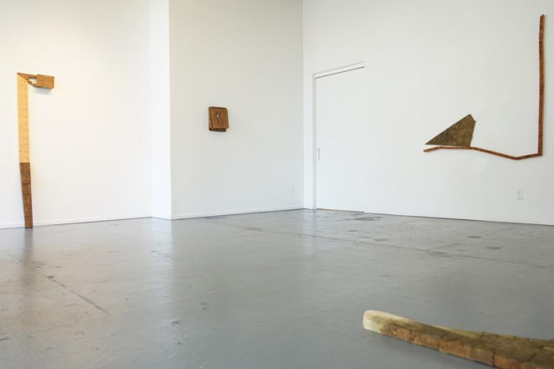 Akiko Mashima installation view Sound of Space at Maus Contemporary