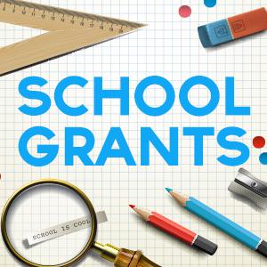 School Grants Banner