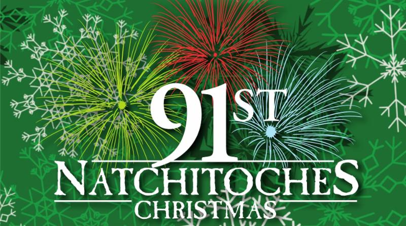 The 91st Annual Natchitoches Christmas Festival Of Lights Is December 2nd.  Join Us For The Parade At 1pm Featuring The 610 Stompers From New Orleans.
