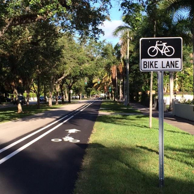 bike lanes on sevilla